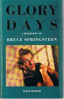 Image for BRUCE SPRINGSTEEN - Glory Days - Bruce Springsteen in the 1980's