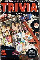 Image for GREAT ROCK AND ROLL TRIVIA QUIZ [THE]