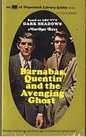 Image for BARNABAS,QUENTIN AND THE AVENGING GHOST